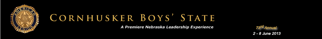 Official Website of Cornhusker Boys&#039; State