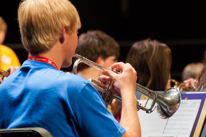 Boys' and Girls' State Band and Chorus a Hit!