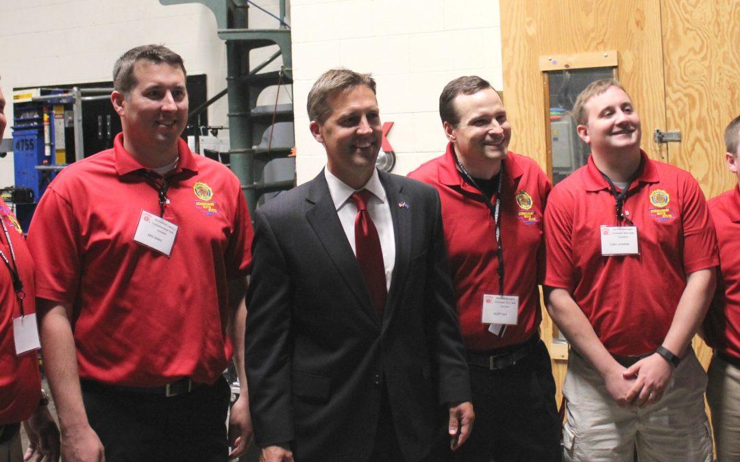 Nebraska Senator Ben Sasse Addresses Boys' Staters