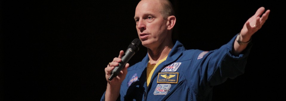 NASA Astronaut, CBS Alum, Proves Sky No Limit for Dreams