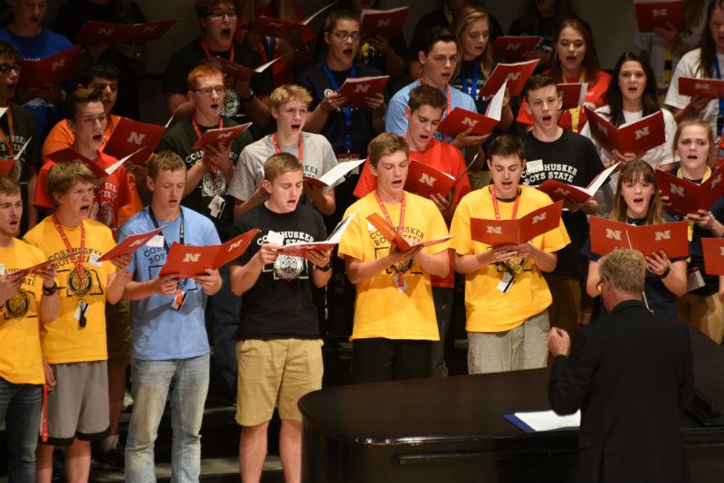 Band & Choir Perform – Lt. Governor Visits Boys' State