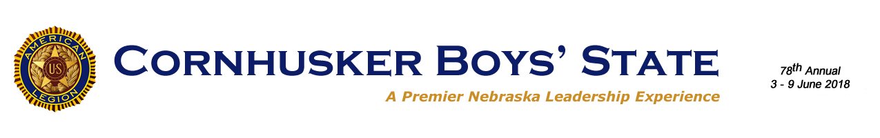 Official Website of Cornhusker Boys' State