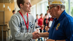 Historian Interviews with Nebraska American Legion Members at Boys' State